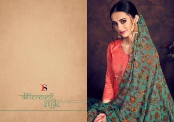 BAROQUE BY DEEPSY SUITS JAM SILK COTTON SELF (1)