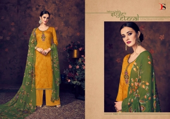 BAROQUE BY DEEPSY SUITS JAM SILK COTTON SELF (3)