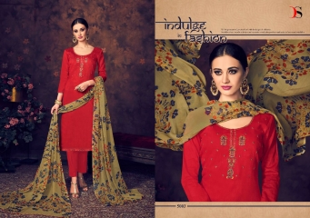 BAROQUE BY DEEPSY SUITS JAM SILK COTTON SELF (4)