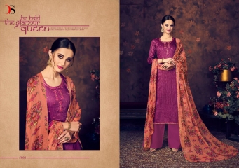 BAROQUE BY DEEPSY SUITS JAM SILK COTTON SELF (5)
