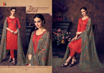 BAROQUE BY DEEPSY SUITS JAM SILK COTTON SELF (6)