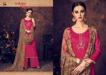 BAROQUE BY DEEPSY SUITS JAM SILK COTTON SELF (8)
