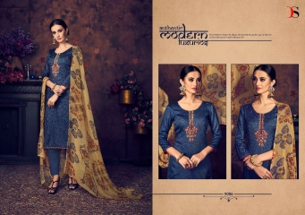 BAROQUE BY DEEPSY SUITS JAM SILK COTTON SELF (9)