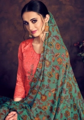 BAROQUE BY DEEPSY SUITS JAM SILK COTTON SELF