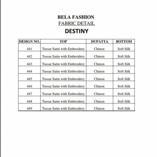 BELA FASHION DESTINY 441-449  (1)