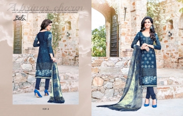 BELA NAAZ VOL 1 COTTON LAWN SATIN DRESSS MATERIAL AT WHOLESALE PRICE AT GOSIYA EXPORTS (12)