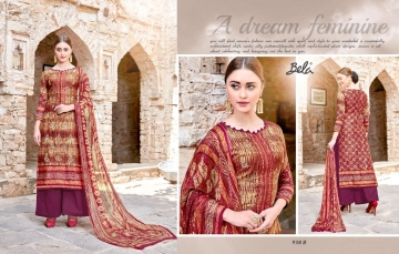 BELA NAAZ VOL 1 COTTON LAWN SATIN DRESSS MATERIAL AT WHOLESALE PRICE AT GOSIYA EXPORTS (4)