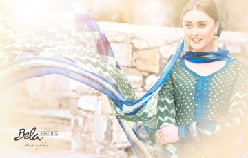 BELA NAAZ VOL 1 COTTON LAWN SATIN DRESSS MATERIAL AT WHOLESALE PRICE AT GOSIYA EXPORTS (6)
