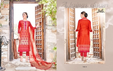 BELA NAAZ VOL 1 COTTON LAWN SATIN DRESSS MATERIAL AT WHOLESALE PRICE AT GOSIYA EXPORTS (9)