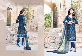 BELA NAAZ VOL 1 COTTON LAWN SATIN DRESSS MATERIAL AT WHOLESALE PRICE AT GOSIYA EXPORTS