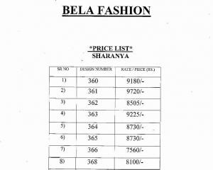 BELA SHARANYA LENGHA 360-368 SERIES WHOLESALE RATE AT GOSIYA EXPORTS SURAT (16)
