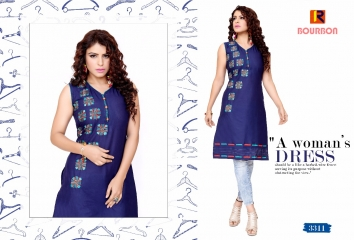 BOURNBORN DESIGNER COTTON KURTIS BY RAASHI AVAILABLE IN WHOLESALE BEST RATES BY GOSIYA EXPORTS (10)