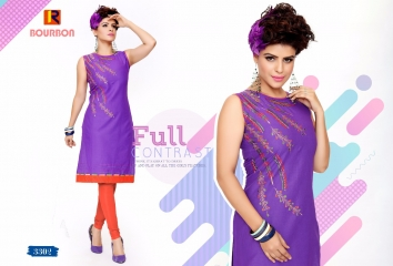 BOURNBORN DESIGNER COTTON KURTIS BY RAASHI AVAILABLE IN WHOLESALE BEST RATES BY GOSIYA EXPORTS (4)