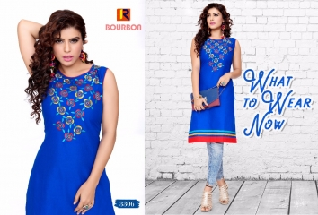 BOURNBORN DESIGNER COTTON KURTIS BY RAASHI AVAILABLE IN WHOLESALE BEST RATES BY GOSIYA EXPORTS (6)