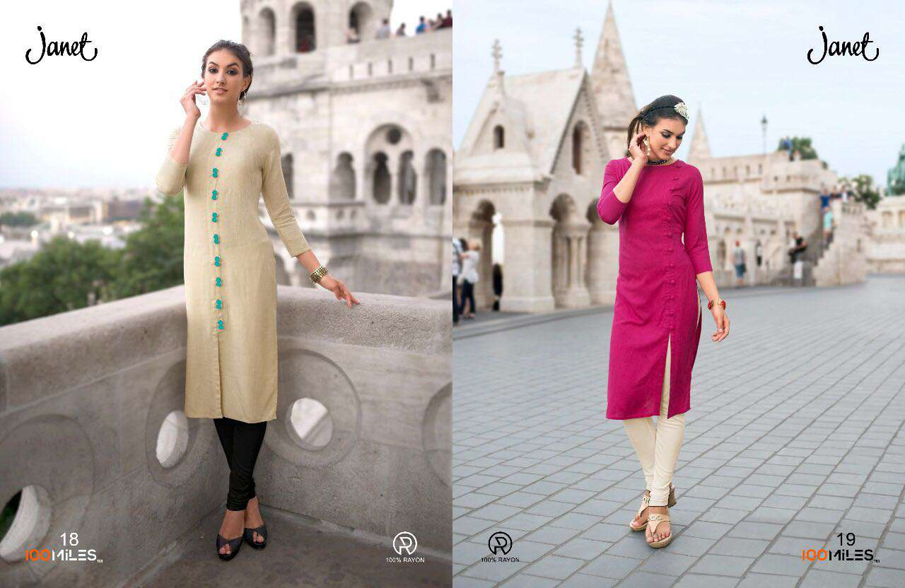 9c0ccc60b7 3 BY 100 MILES SURAT EXCLUSIVE CASUAL WEAR KURTI COLLECTION WHOLESALE BEST  ARET B (2