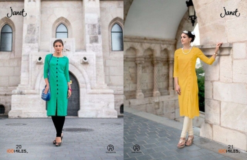 3 BY 100 MILES SURAT EXCLUSIVE CASUAL WEAR KURTI COLLECTION WHOLESALE BEST ARET B (3)