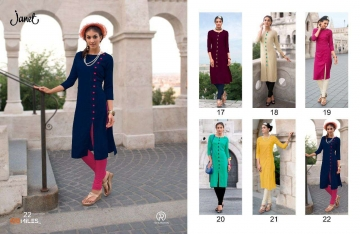 3 BY 100 MILES SURAT EXCLUSIVE CASUAL WEAR KURTI COLLECTION WHOLESALE BEST ARET B (4)
