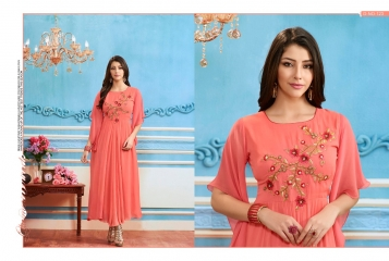 BUY KAJREE FASHION PAISLEY FANCG DESIGNER KURTIS CATALOG ONLINE FROM SURAT WHOLESALE BEST RATE BY GOSIYA EXPORTS (14)