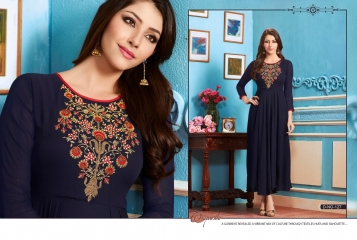 BUY KAJREE FASHION PAISLEY FANCG DESIGNER KURTIS CATALOG ONLINE FROM SURAT WHOLESALE BEST RATE BY GOSIYA EXPORTS (18)