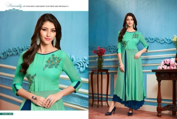 BUY KAJREE FASHION PAISLEY FANCG DESIGNER KURTIS CATALOG ONLINE FROM SURAT WHOLESALE BEST RATE BY GOSIYA EXPORTS (20)