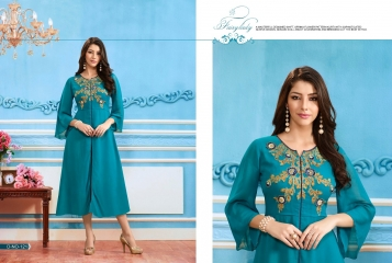BUY KAJREE FASHION PAISLEY FANCG DESIGNER KURTIS CATALOG ONLINE FROM SURAT WHOLESALE BEST RATE BY GOSIYA EXPORTS (23)