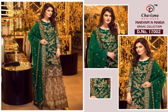 Charizma-Maryam-And-Maria-Georgette-Embroidery-Pakistani-Salwar-Suit-1