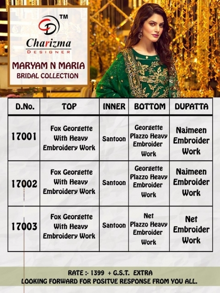 Charizma-Maryam-And-Maria-Georgette-Embroidery-Pakistani-Salwar-Suit-5