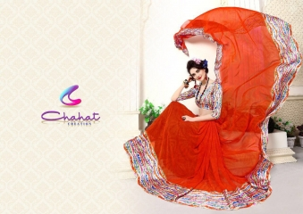 CHAHAT CREATION ANSHIKA VOL 1 DIGITAL PRINTED EXCLUSIVE SAREE BUY AT BEST RATE BY GOSIYA EXPORTS (7)