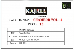 CHAMBOR VOL 4 KAJREE FASHION (13)