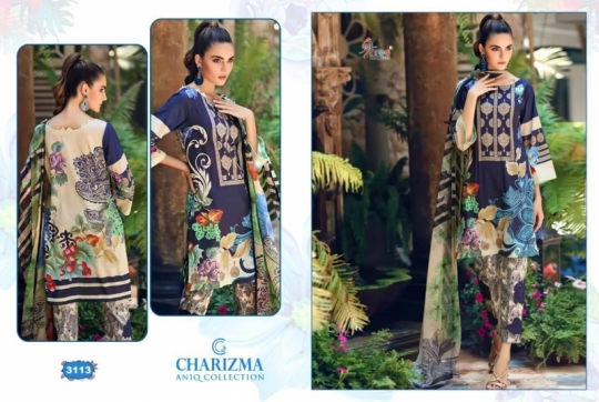 CHARIZMA ANIQ COLLECTION PAKISTANI STYLE PARTY WEAR SUITS WHOLESALE DEALER BEST RATE BY GOSIYA EXPORTS SURAT (1)