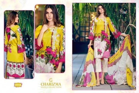 CHARIZMA ANIQ COLLECTION PAKISTANI STYLE PARTY WEAR SUITS WHOLESALE DEALER BEST RATE BY GOSIYA EXPORTS SURAT (2)