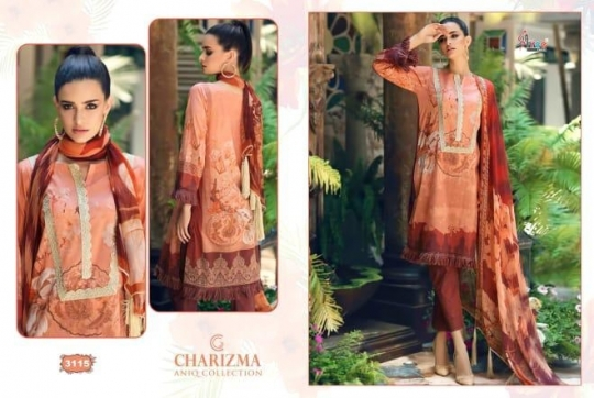 CHARIZMA ANIQ COLLECTION PAKISTANI STYLE PARTY WEAR SUITS WHOLESALE DEALER BEST RATE BY GOSIYA EXPORTS SURAT (5)