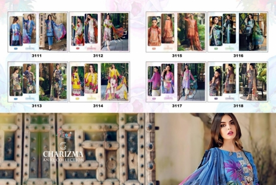 CHARIZMA ANIQ COLLECTION PAKISTANI STYLE PARTY WEAR SUITS WHOLESALE DEALER BEST RATE BY GOSIYA EXPORTS SURAT (8)