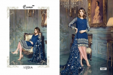 COSMOS FASHION AAYRA GEORGETTE PAKISTANI STYLE SALWAR KAMEEZ BEST RATE BY GOSIYA EXPORTS DEALER SURAT (1)