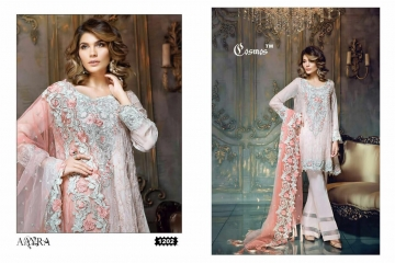 COSMOS FASHION AAYRA GEORGETTE PAKISTANI STYLE SALWAR KAMEEZ BEST RATE BY GOSIYA EXPORTS DEALER SURAT (2)