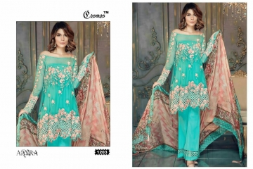 COSMOS FASHION AAYRA GEORGETTE PAKISTANI STYLE SALWAR KAMEEZ BEST RATE BY GOSIYA EXPORTS DEALER SURAT (3)