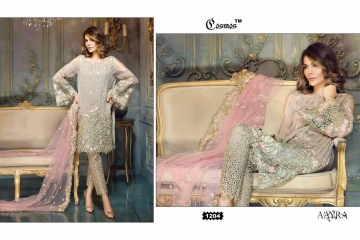 COSMOS FASHION AAYRA GEORGETTE PAKISTANI STYLE SALWAR KAMEEZ BEST RATE BY GOSIYA EXPORTS DEALER SURAT (4)