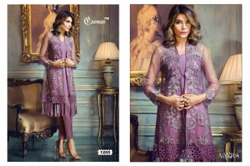 COSMOS FASHION AAYRA GEORGETTE PAKISTANI STYLE SALWAR KAMEEZ BEST RATE BY GOSIYA EXPORTS DEALER SURAT (5)