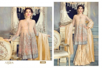 COSMOS FASHION AAYRA GEORGETTE PAKISTANI STYLE SALWAR KAMEEZ BEST RATE BY GOSIYA EXPORTS DEALER SURAT (6)