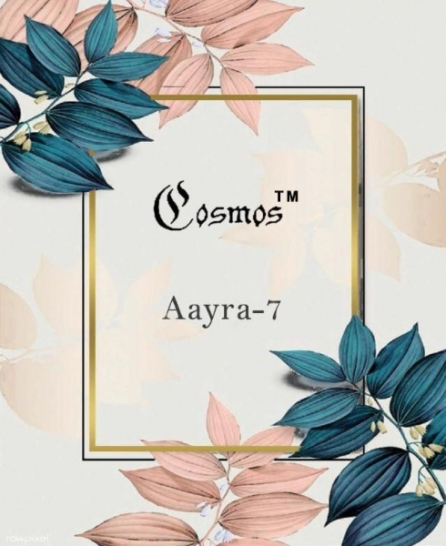 COSMOS PRESENTS AAYRA VOL 7 GEORGETTE FABRIC SALWAR SUIT WHOLESALE DEALER BEST RATE BY GOSIYA EXPORTS SURAT (6)