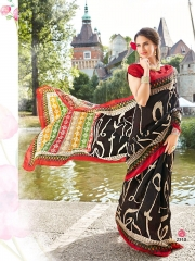 COTTON CRAFT SAREES BY SHANGRILA DESIGNER WITH PRINTED SILK SAREES ARE AVAILABLE AT WHOLESALE BEST RATE BY GOSIYA (1)