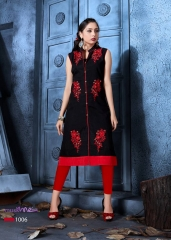 COTTON DOLL BY MUSKMELON COTTON KURTI WHOLESALE RATE AT GOSIYA EXPORTS SURAT (10)