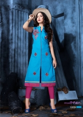 COTTON DOLL BY MUSKMELON COTTON KURTI WHOLESALE RATE AT GOSIYA EXPORTS SURAT (11)