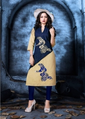 COTTON DOLL BY MUSKMELON COTTON KURTI WHOLESALE RATE AT GOSIYA EXPORTS SURAT (3)