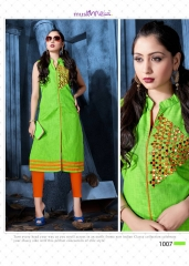 COTTON DOLL BY MUSKMELON COTTON KURTI WHOLESALE RATE AT GOSIYA EXPORTS SURAT (8)