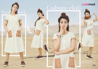 CUTEMAD CLOUD 9 VOL 2 BLENDED COTTON KURTI COLLECTION WHOLESALE BEST RATE BY GOSIYA EXPORTS SURAT (1)
