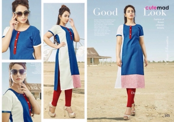CUTEMAD CLOUD 9 VOL 2 BLENDED COTTON KURTI COLLECTION WHOLESALE BEST RATE BY GOSIYA EXPORTS SURAT (4)