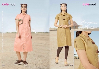 CUTEMAD CLOUD 9 VOL 2 BLENDED COTTON KURTI COLLECTION WHOLESALE BEST RATE BY GOSIYA EXPORTS SURAT (6)