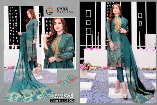 CYRA FASHION PRESENTS TAWAKKAL  (3)