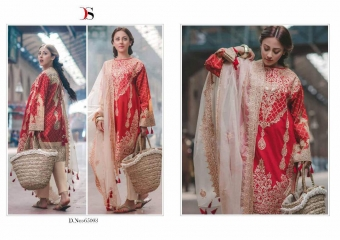DEEPSY CARNATION PAKISTANI STYLE SUITS WHOLESALE DEALER BY GOSIYA EXPORTS SURAT (9)